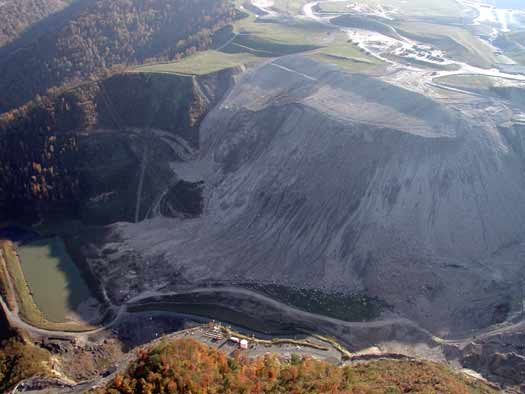Burchton Curve Valley Fill. Photograph by Vivian Stockman, Oct. 19, 2003